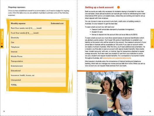 Embassy of Australia, Australian Education International Predeparture Guide 2009, Page Spread 5