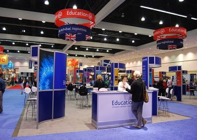 British Council NAFSA Exhibit