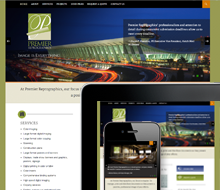 Premier Reprographics website