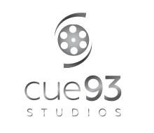 Cue93 Studios logo design