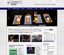 Dance Place website