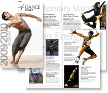 Dance Place Season Brochure