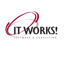 IT WORKS! Software and Consulting Logo Design and Branding