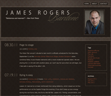 James Rogers website