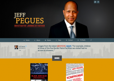 Jeff Pegues website