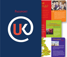 British Embassy/British Council Passport UK Brochure