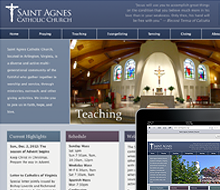 Saint Agnes Parish Website
